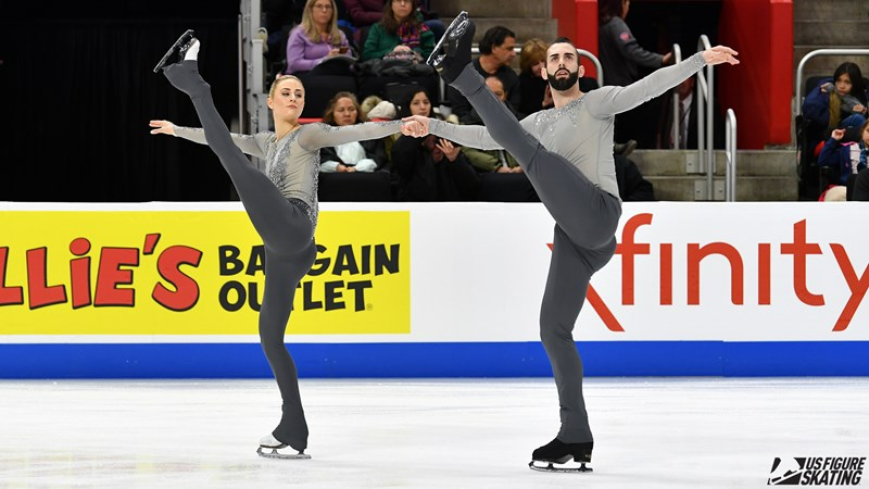 Cain and LeDuc Hope to Elevate U.S. Pairs on the World Stage - U.S. Figure Skating Fan Zone