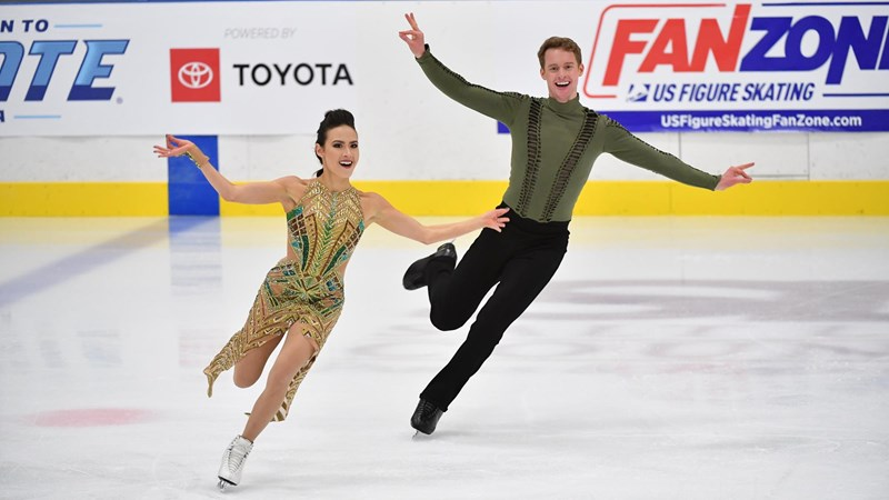 Chock and Bates Capture Second Straight Gold Medal at Finlandia Trophy