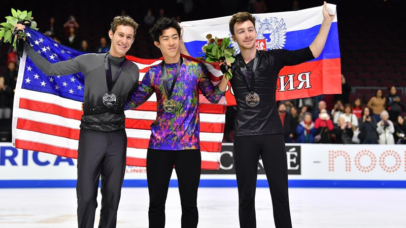 Chen, Hubbell and Donohue Take Skate America Titles